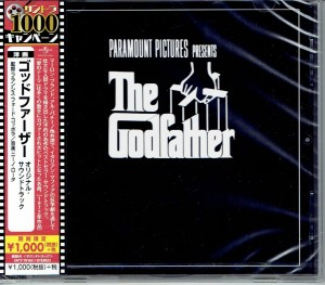 The Godfather OST JAPAN CD UICY-78163