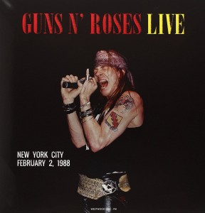 GUNS N' ROSES Live in New York City Februar 1988