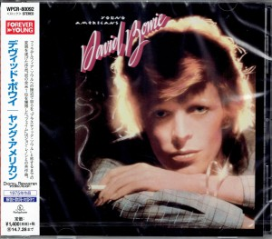 DAVID BOWIE Young Americans JAPAN CD WPCR-80092