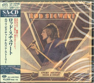 ROD STEWART Every Picture Tells A Story JAPAN SACD UIGY-15009