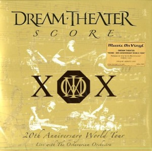 DREAM THEATER Score 20thAnniversary World Tour 4LP
