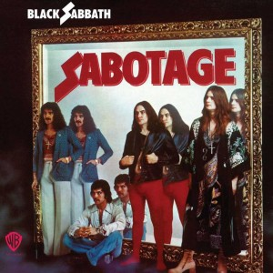 BLACK SABBATH Sabotage - 180g limited black