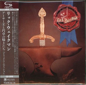 RICK WAKEMAN The Myths And Legends Of King Authur And The Knights Of The Round Table SHM-CD+DVD Quadraphonic (UICY-76993)