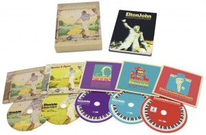 ELTON JOHN Goodbye Yellow Brick Road 4xCD+DVD BOX
