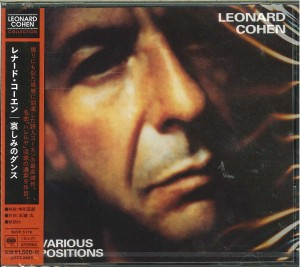 LEONARD COHEN Various Positions JAPAN CD (SICP-5178)