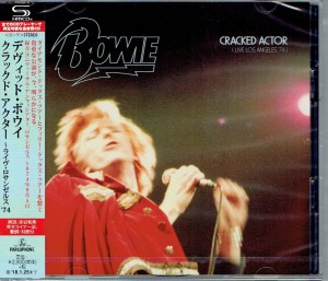 DAVID BOWIE Cracked Actor Live JAPAN 2xSHM-CD (WPCR-17848)