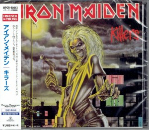 IRON MAIDEN Killers JAPAN CD+VIDEO (WPCR-80013)