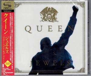 QUEEN Jewels JAPAN SHM-CD UICY-15269