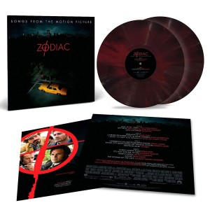 ZODIAC (Songs From The Motion Picture) 2xLP red coloured
