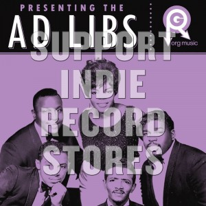 THE AD LIBS Presenting... The Ad Libs (BLACK FRIDAY 2018)