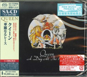 QUEEN A Day At The Races JAPAN SHM-SACD (2016) UIGY-15015
