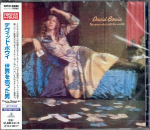 DAVID BOWIE The Man Who Sold The World JAPAN CD WPCR-80086