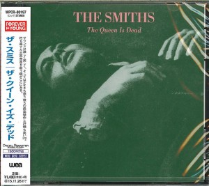 SMITHS The Queen Is Dead JAPAN CD 2015 WPCR-80197