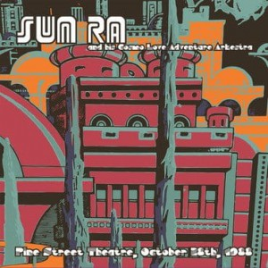 RSD18 SUN RA PINE STREET THEATRE, OCT 28TH, 1988 (2xLP pressed at RTI)