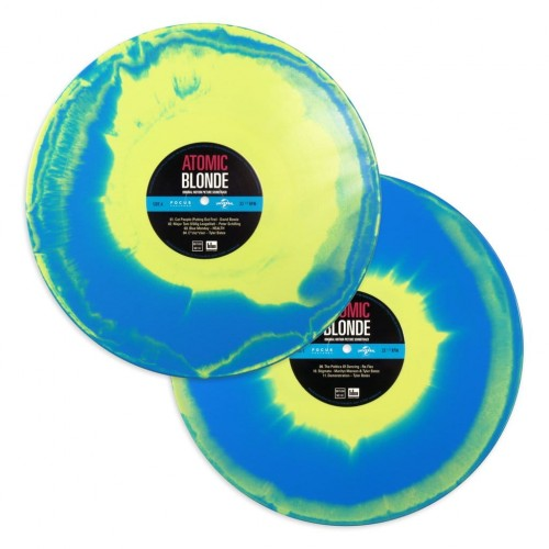 ATOMIC BLONDE - Original Motion Picture Soundtrack 2xLP (MOND114) (Blue and  Yellow Swirl)
