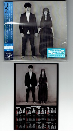 U2 Songs Of Experience JAPAN LIMITED CD + BONUS CALENDAR (UICI-9068)