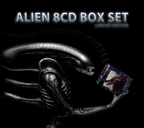 Alien Soundtracks Boxset - 8 x CD Complete - Limited Edition - Jerry Goldsmith-.jpg